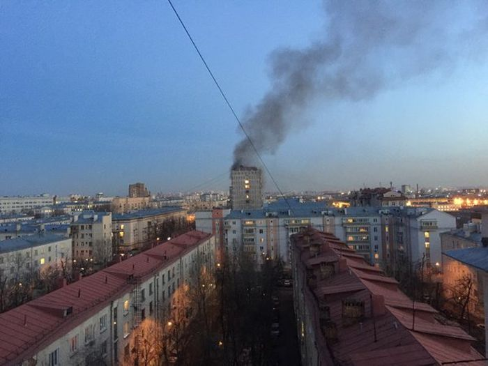 В Москве в жилом доме произошел взрыв газа (5 фото + видео)
