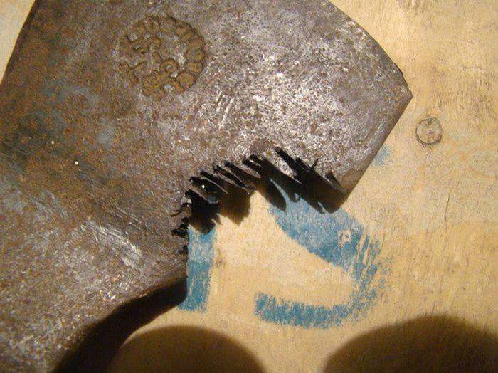 Топорик из старого топора