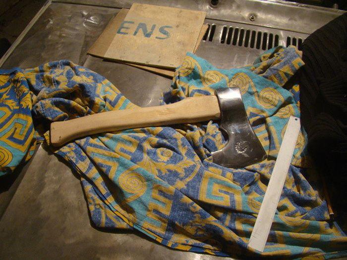 Как сделать декоративный топор своими руками (21 фото)