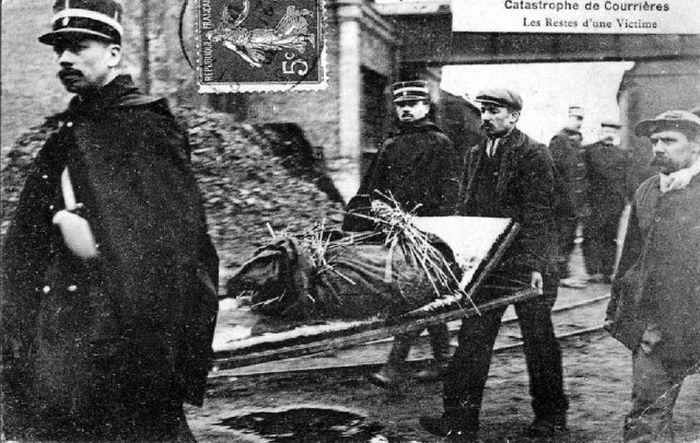 Одна из крупнейших в мире подземных катастроф, произошедшая 110 лет назад (17 фото)
