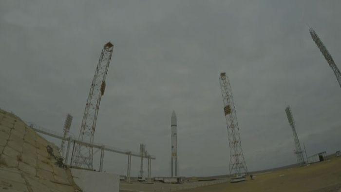 С космодрома Байконур успешно стартовал ракета-носитель «Протон-М» с марсианским модулем «Скиапарелли» на борту (5 фото)