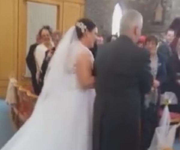 Нестандартный инцидент на свадьбе