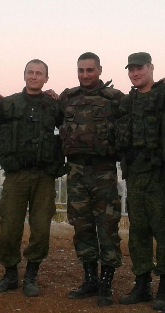 Российские военнослужащие в Сирии (30 фото)