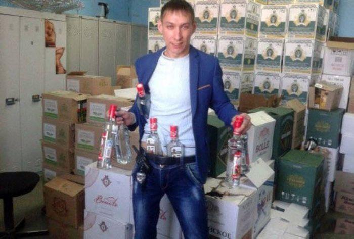 Фото, которые возможно было сделать только в России. Часть 23 (40 фото)