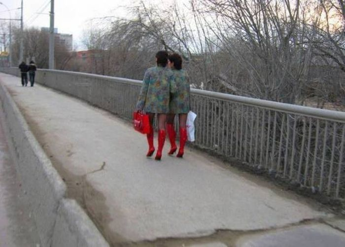 Люди с необычным чувством стиля (46 фото)