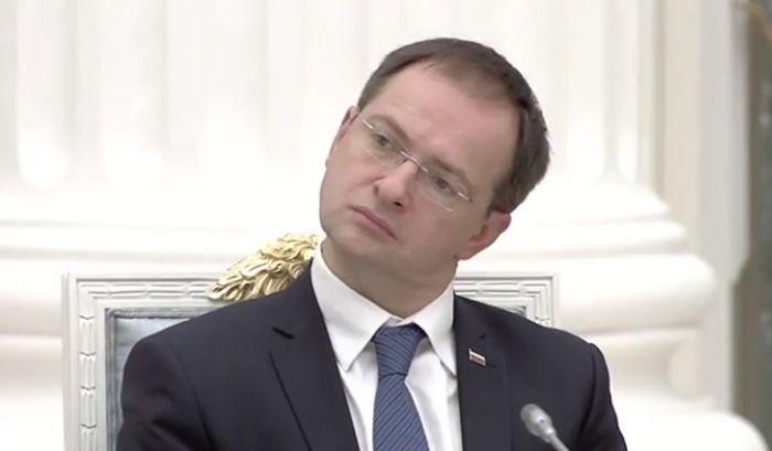 Министр культуры России Владимир Мединский попал под подозрение
