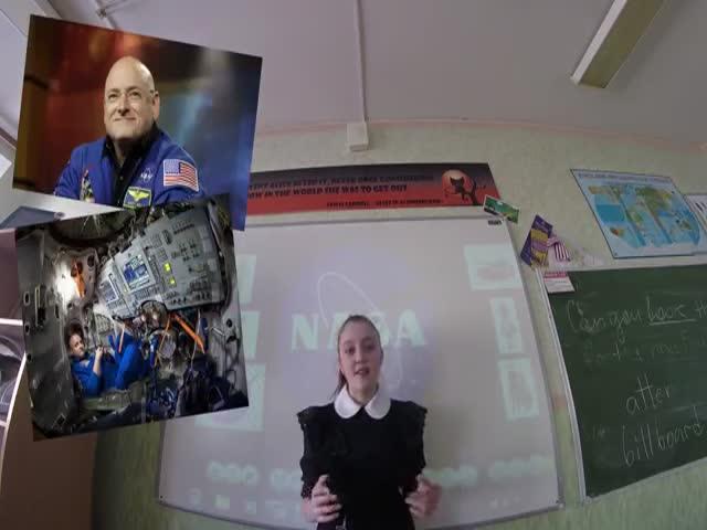 Школьники решили рассказать об успехах наших космонавтов вместо СМИ