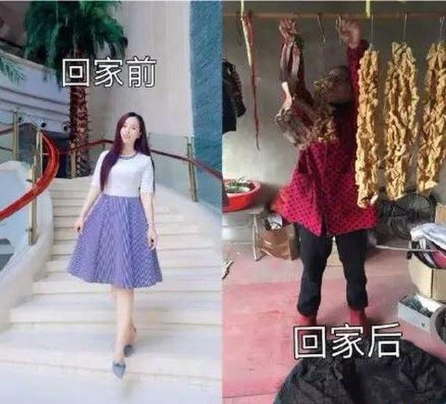 Выходцы из китайских деревень запустили новый флешмоб (13 фото)