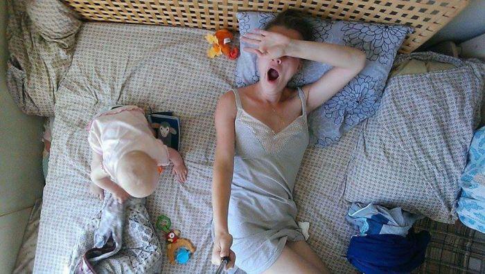 Москвичка с моноподом показала, что значит находиться в декретном отпуске (26 фото)