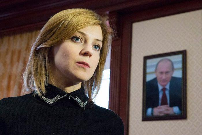 Снимки из новой фотосессии прокурора Крыма Натальи Поклонской (10 фото)