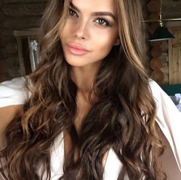 Очаровательные русские красавицы на фото из Instagram (35 фото)