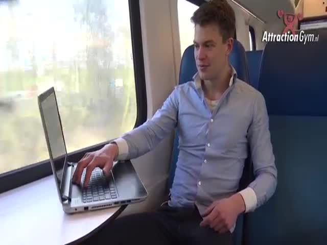 Пранк: порно в общественном транспорте
