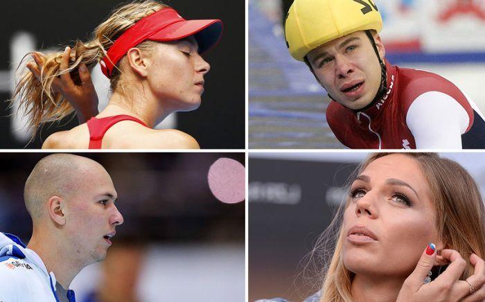 Российские спортсмены, попавшиеся на использовании мельдония (9 фото)