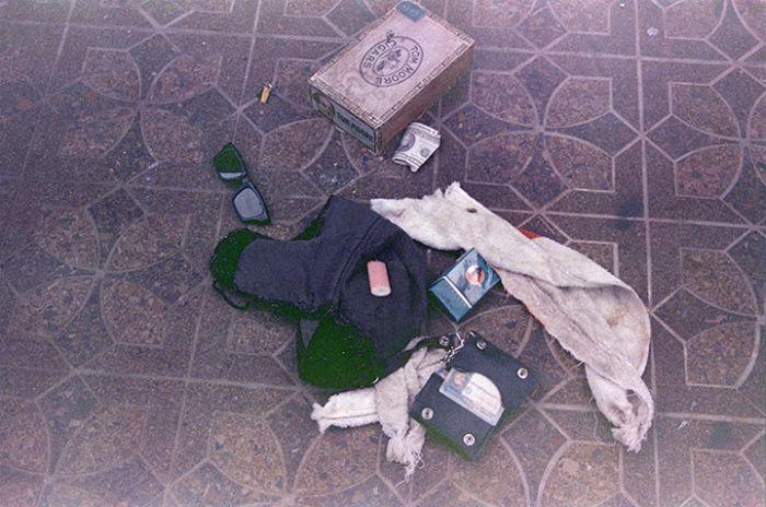 Полиция опубликовала фото ружья, из которого застрелился лидер группы Nirvana Курт Кобейн (29 фото)