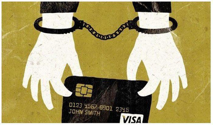 Самые популярные способы кражи денег с банковских карт (10 фото)