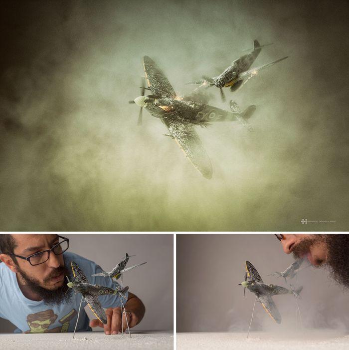 Удивительные фотографии с детскими игрушками (9 фото)