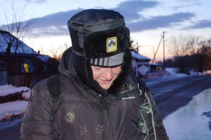 Пешком из Санкт-Петербурга во Владивосток (7 фото + видео)