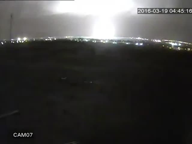Новое видео падения «Боинга» в аэропорту Ростова-на-Дону