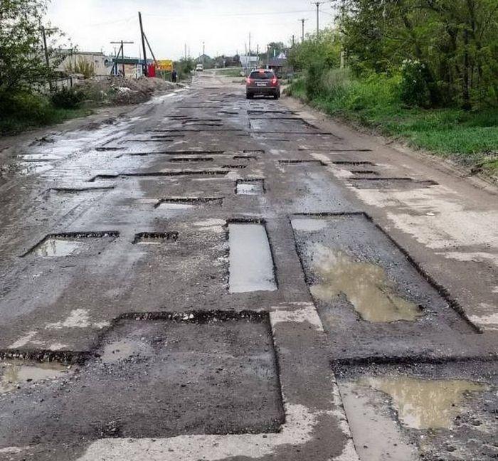Фото, которые возможно было сделать только в России. Часть 24 (41 фото)