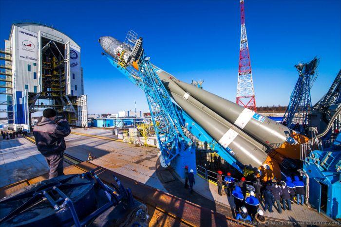 Космодром «Восточный» готов к первому запуску (35 фото)