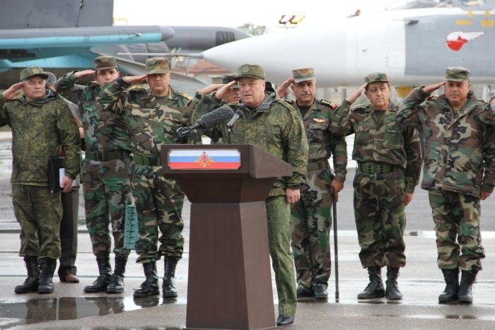 Российский спецназ вел наземные операции в Сириии (3 фото)