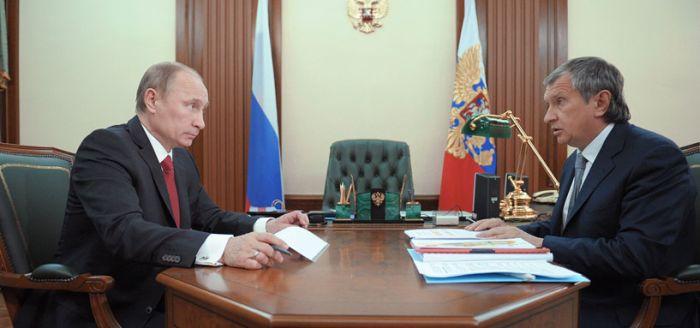 Путина заменили на губернатора Свердловской области на фото с Сечиным (2 фото)