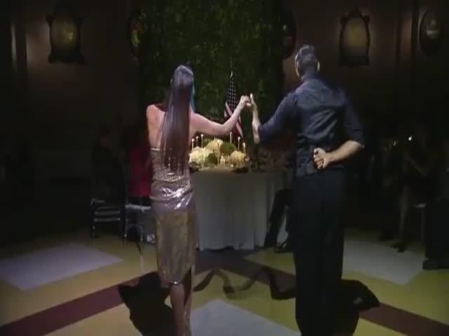 На приеме в Аргентине Барак Обама станцевал танго