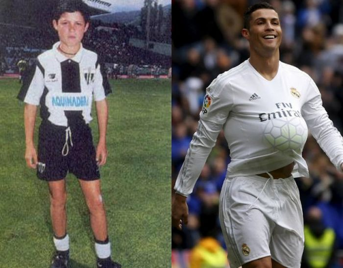 Известные футболисты в детстве (23 фото)
