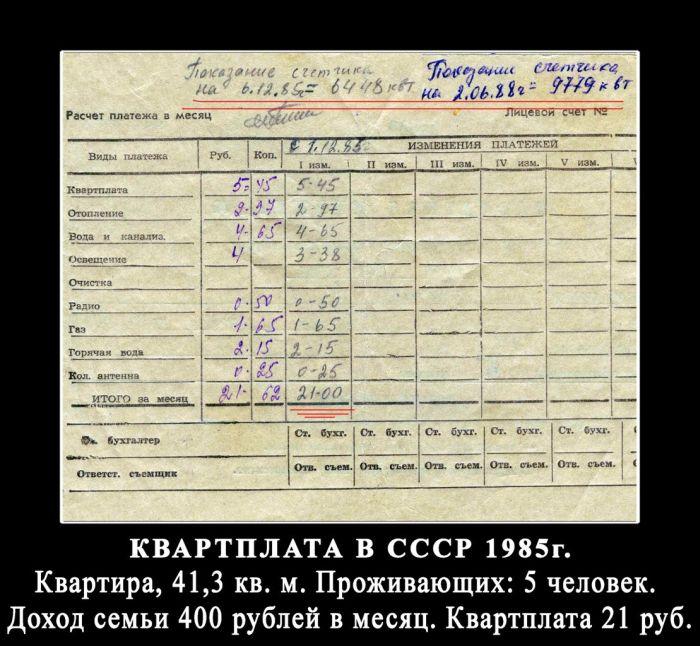 Реальные зарплаты и цены в СССР (8 фото)