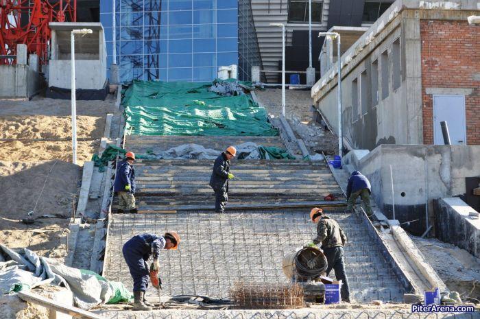 Стоимость стадиона «Зенит-Арена» превысила миллиард долларов (19 фото)