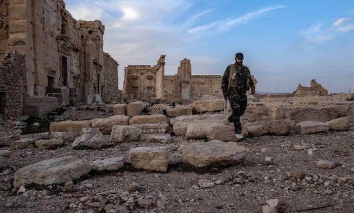 Появились первые кадры освобожденной от боевиков ИГИЛ Пальмиры (8 фото + видео)