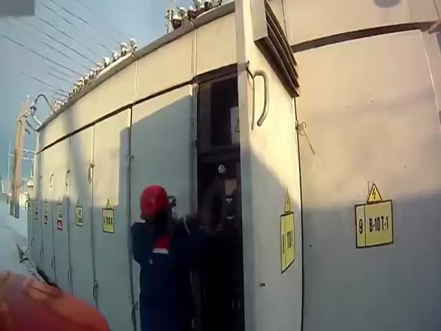 Авария на электростанции в Челябинской области