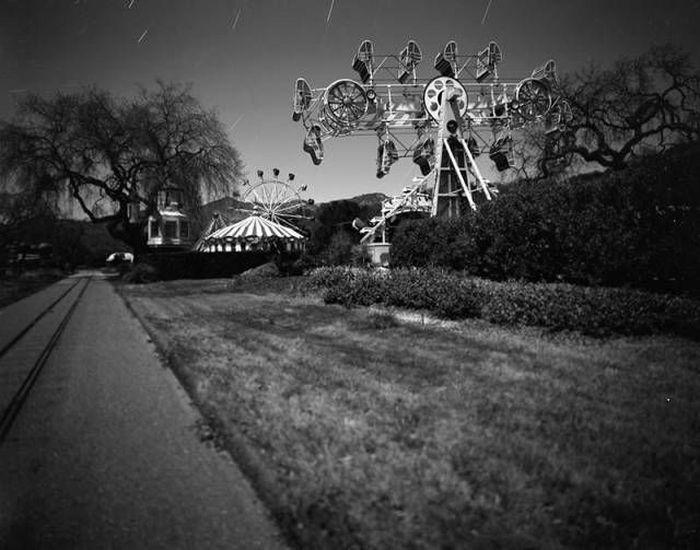 Редкие фотографии поместья Майкла Джексона Неверлэнд (35 фото)
