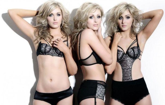 Самые очаровательные сестры-двойняшки, тройняшки и четверняшки (14 фото)
