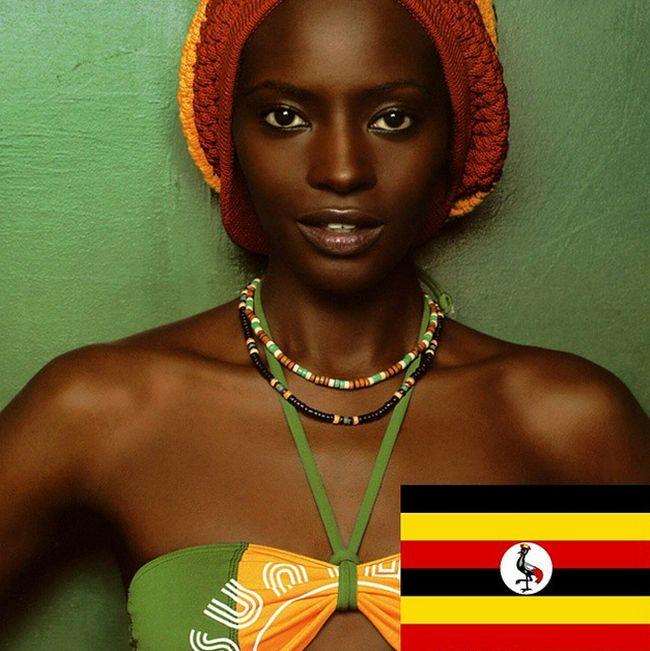 Красивые девушки из разных уголков мира (20 фото)