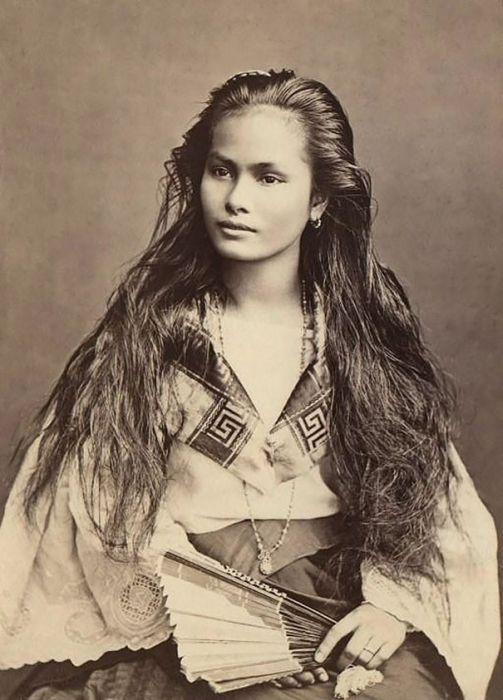 Красивые женщины из прошлого (19 фото)