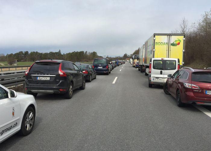 Как пропускают спецавтомобили в Германии (фото + текст)