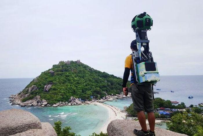 Ради улучшения сервиса Google Street View энтузиаст преодолел 500 000 км (10 фото)