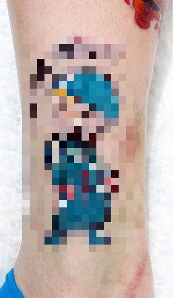 Как преобразить шрам при помощи татуировки (2 фото)