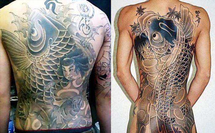 Значения татуировок якудза (12 фото)