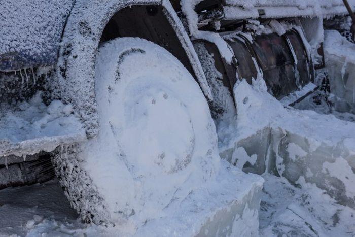 Путешествие по зимникам Якутии (30 фото)