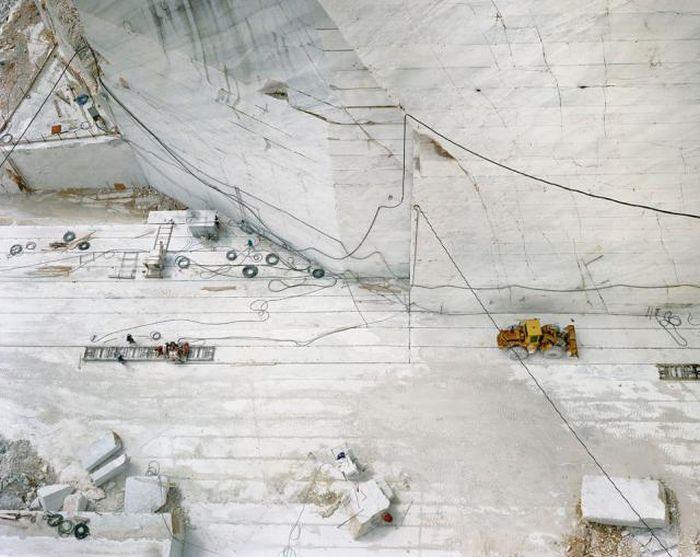 Фотографии из мраморных месторождений (11 фото)
