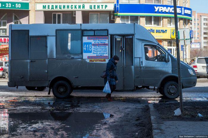 Негативные впечатления от знакомства с Омском (46 фото)