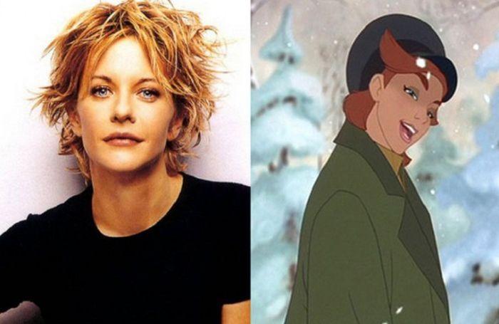 Герои мультфильмов, которые выглядят и говорят, как знаменитости (10 фото)