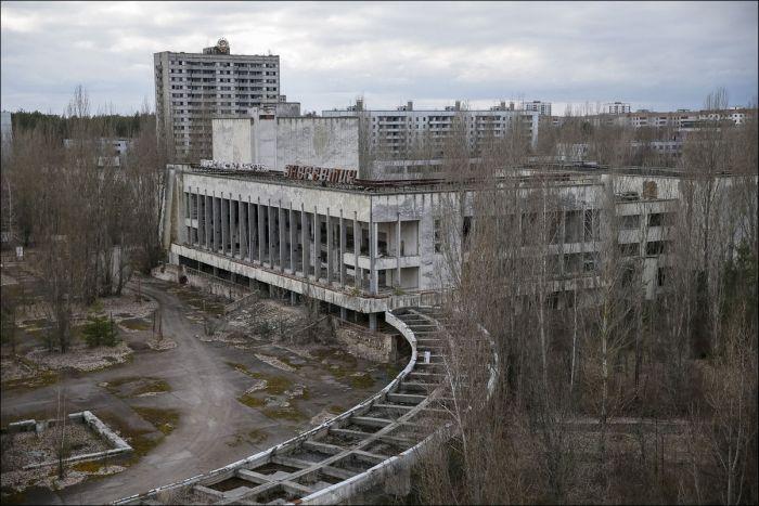 Зона отчуждения Чернобыльской АЭС спустя 30 лет после аварии