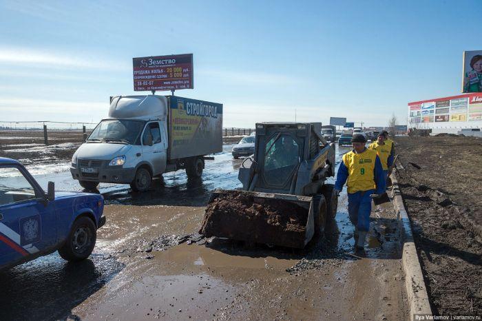 Дороги Омска (45 фото + видео)