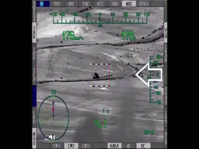 В сети появились новые видео боевого применения вертолетов Ми-28Н