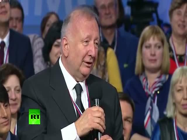 Владимир Путин поработал переводчиком
