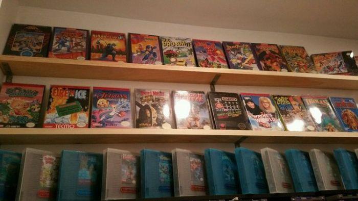Американец продает коллекцию из более чем 3000 видеоигр за 150 000 долларов (7 фото)
