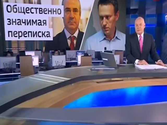 «Вести недели» разоблачили Алексея Навального